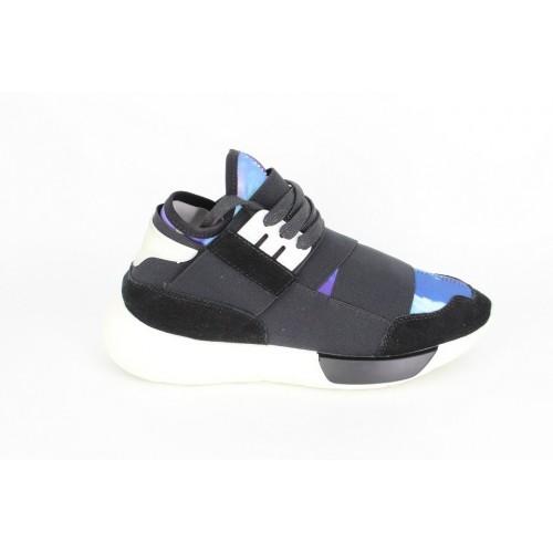Sneakers fashion flower blue