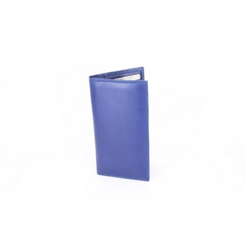 Portofel piele blue V941