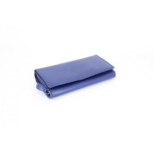 Portofel piele blue V911