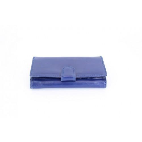 Portofel piele blu V901