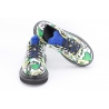 Pantofi dama graffiti green