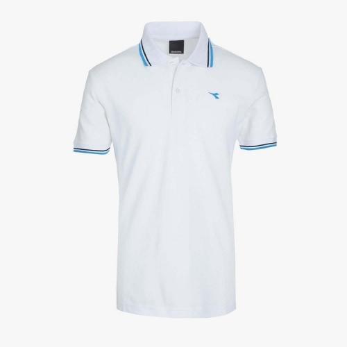 DIADORA Tricou Polo Blanco