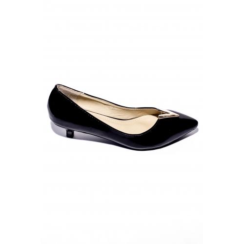 Pantofi Piele Camy