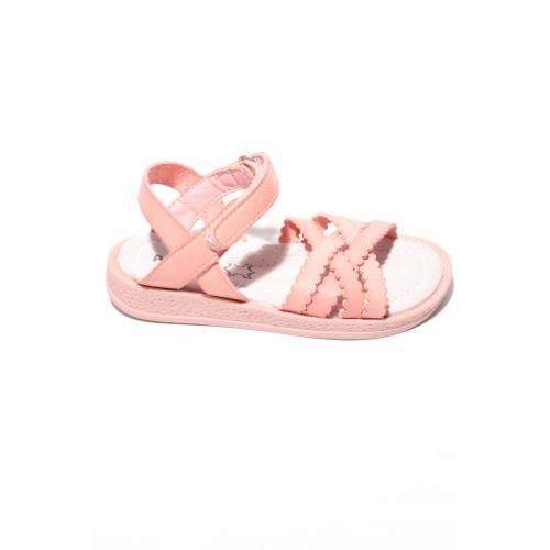 Sandale Piele Adela Roz