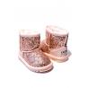 Cizme Copii Tip Ugg Pink Sparkle